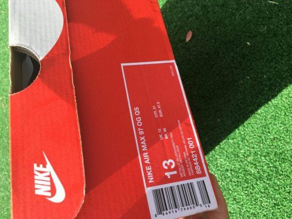 Nike air max 97 silver bullet 2017 £170