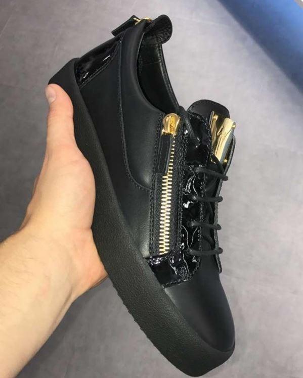 Giuseppe Zanotti Black May London Sneakers NEW