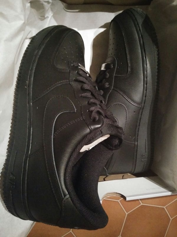 Nike Black Air Force 1 Low BRAND NEW