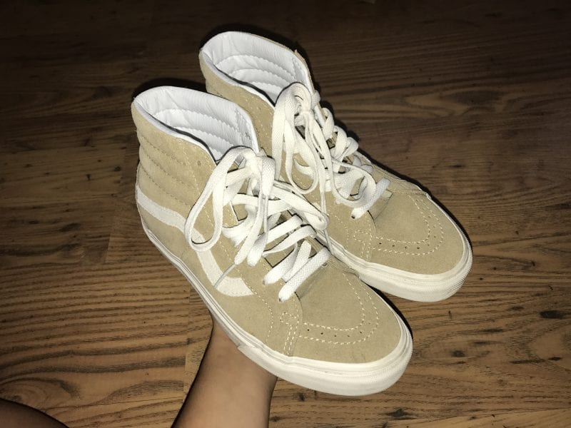 High Top Sk8 Vans UK 4