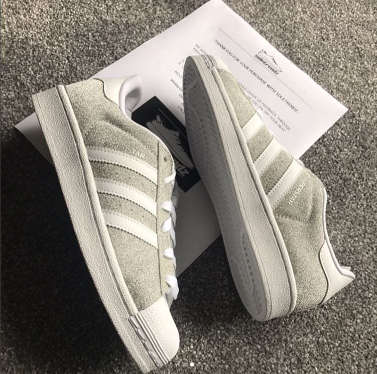 Adidas Ladies Superstar Gliter