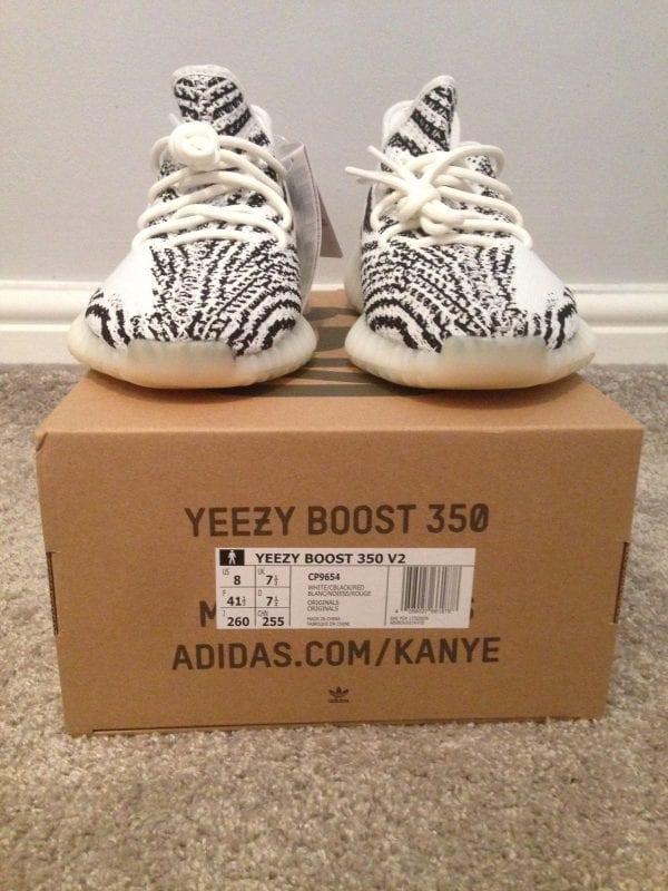 Yeezy 350 Zebra UK 7.5