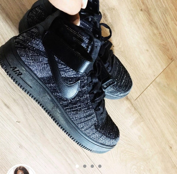 Mens Nike Airforce 1 Ultra Flyknit Mid Trainer
