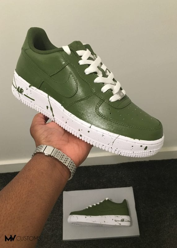 Custom Khaki Nike Air Force 1