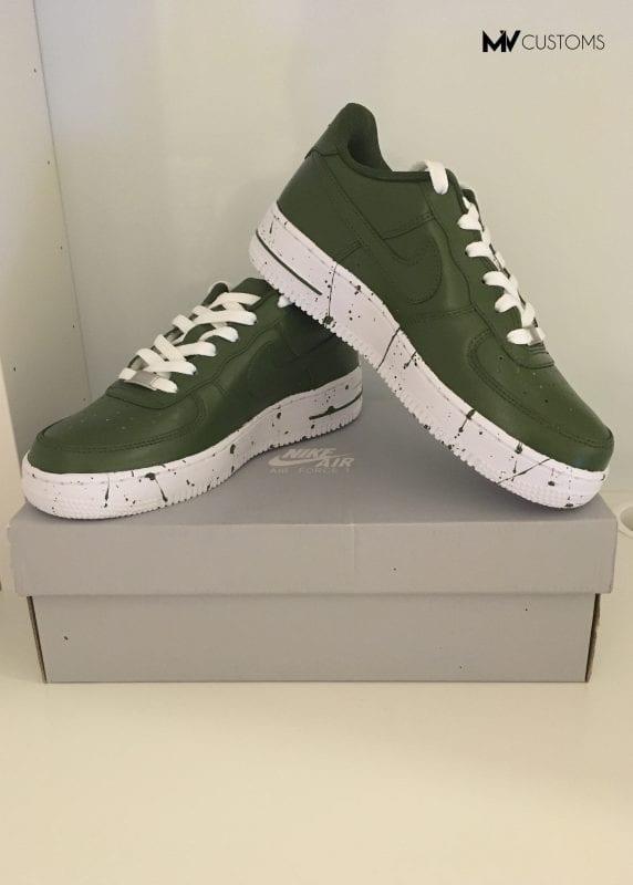 Custom Khaki Nike Air Force 1