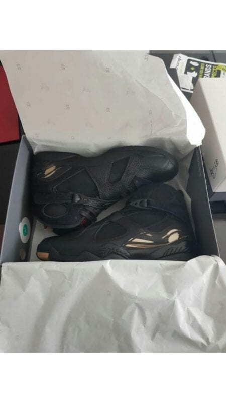 OVO Air Jordan 8 Retro - Black