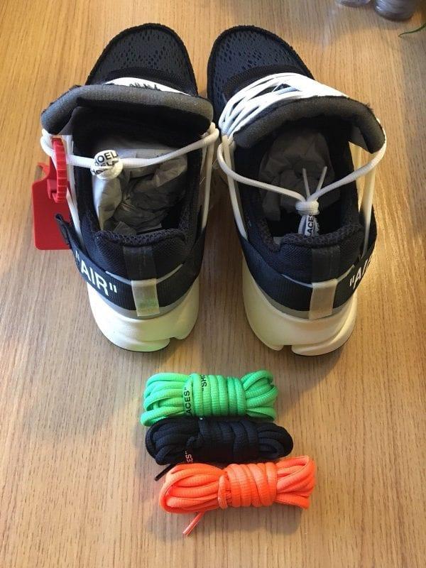 """Nike x Off-White Air Presto - Virgil Abloh """"The Ten"""" UK 9 Brand New"""