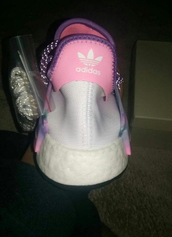 Pharrell x Adidas Hu Holi NMD Pink Glow