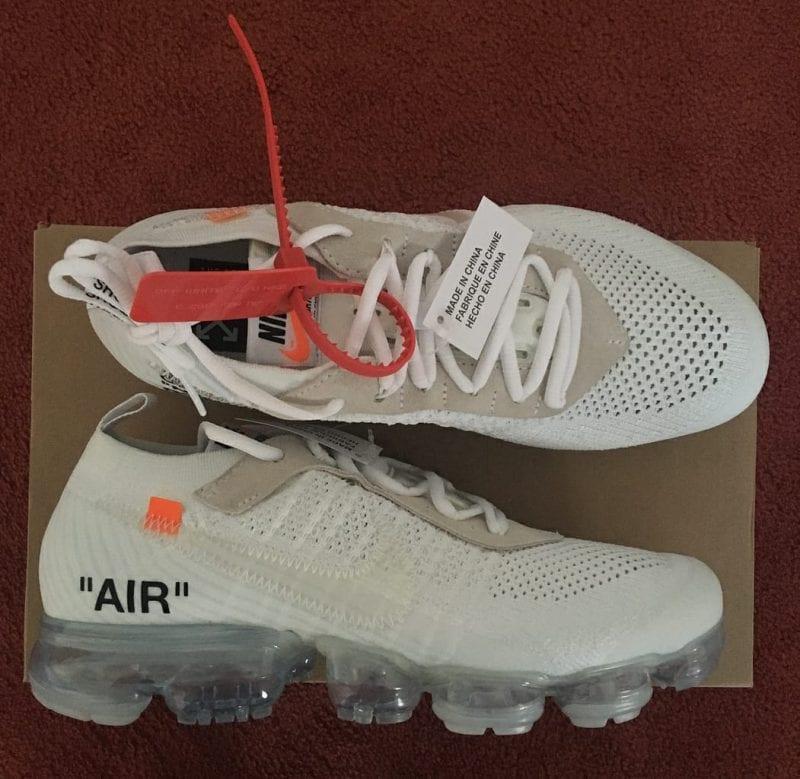 """Off-White X Nike Vapormax 2.0 """"White"""""""