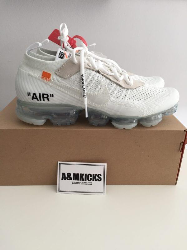 Off-White x Nike Vapormax - White