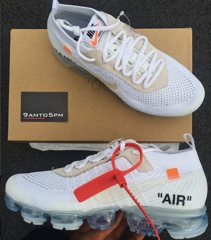 Nike x Off-White Vapormax 'White'