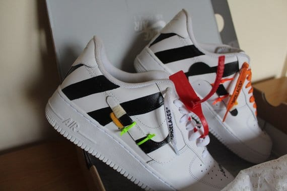 Off White Air Force 1's