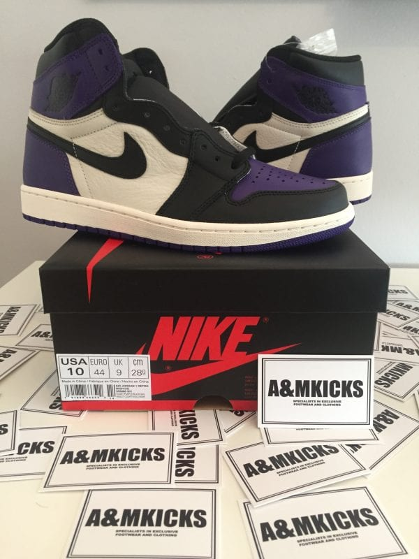 "Jordan 1 ""Off Court Purple"""