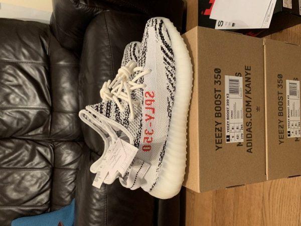 """Adidas Yeezy 350 """"Zebra"""""""