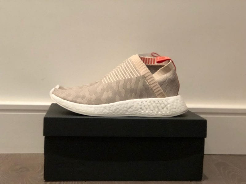 DEADSTOCK - NMD CS2 PK W - Linen Pink - UK 7