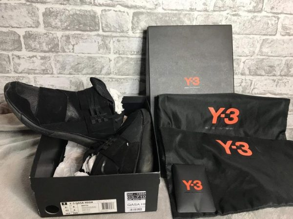 Adidas Y-3 Qasa High Black