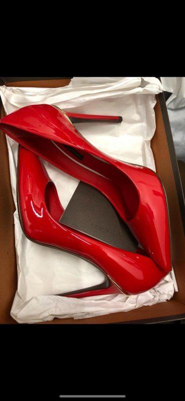 Louis Vuitton Red Heel Pump