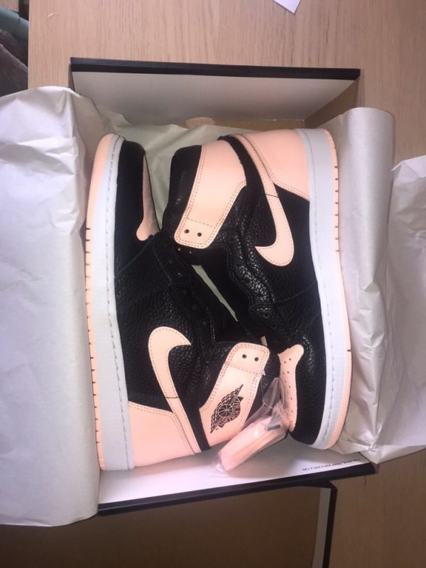 Jordan 1 Black Crimson Tint