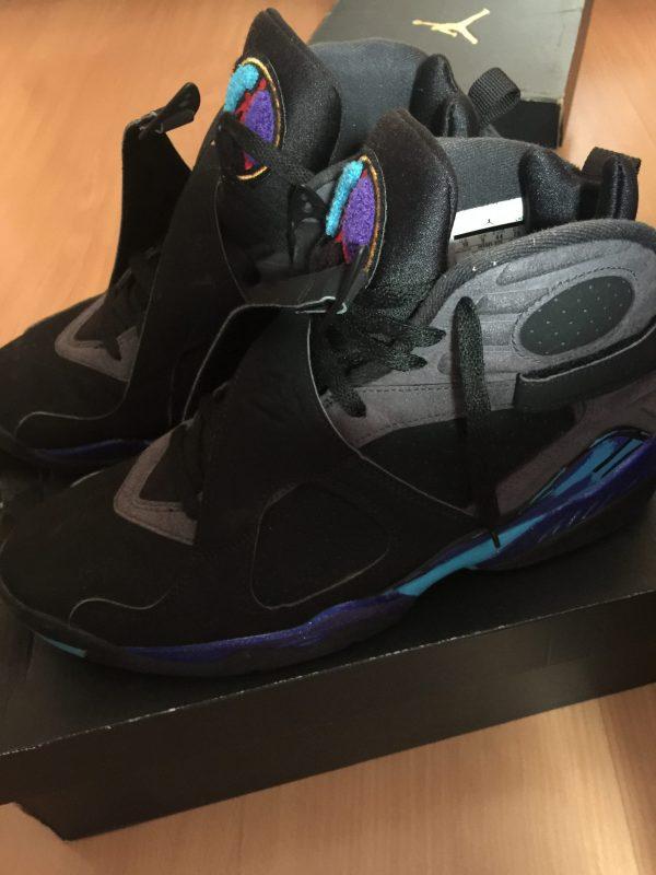 Jordan 8 Aqua