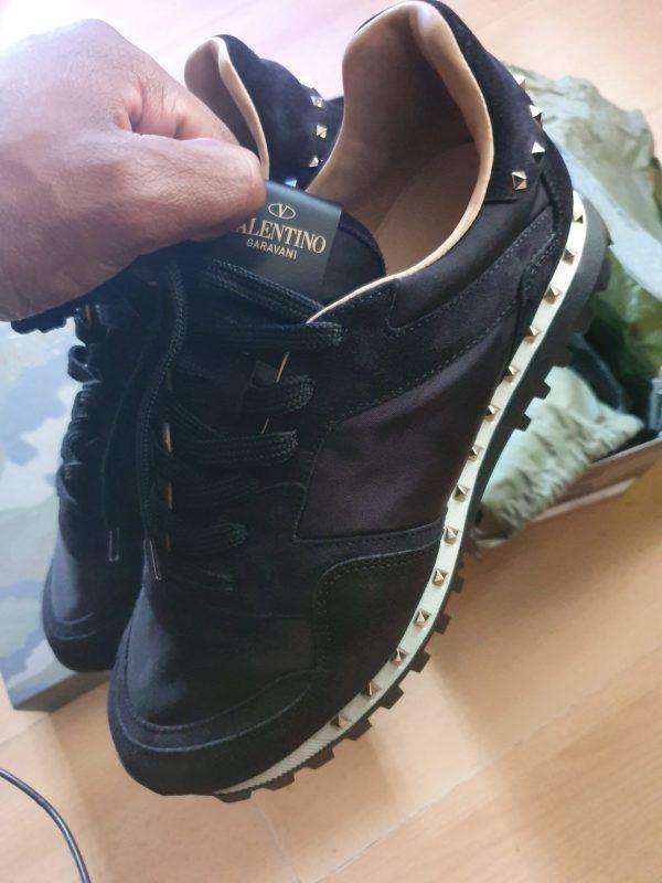 Valentino Rockstudded Black Camo