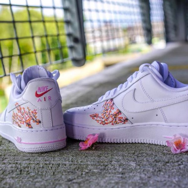 Cherry blossom Air Force 1