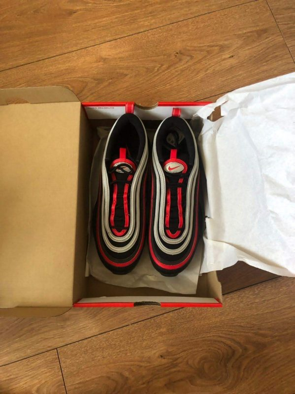 Air Max 97 Black/University Red