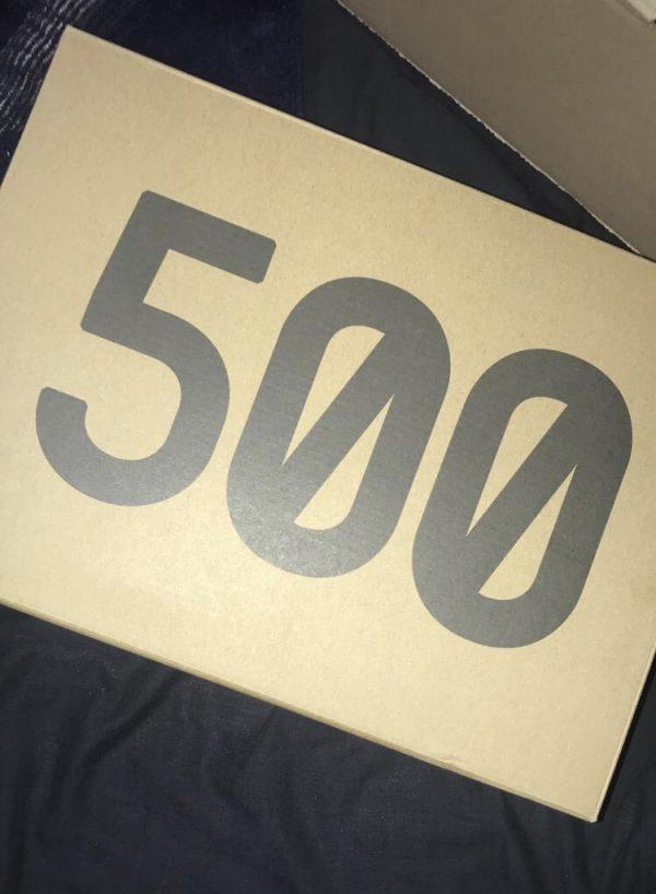Yeezy 500 Bone White