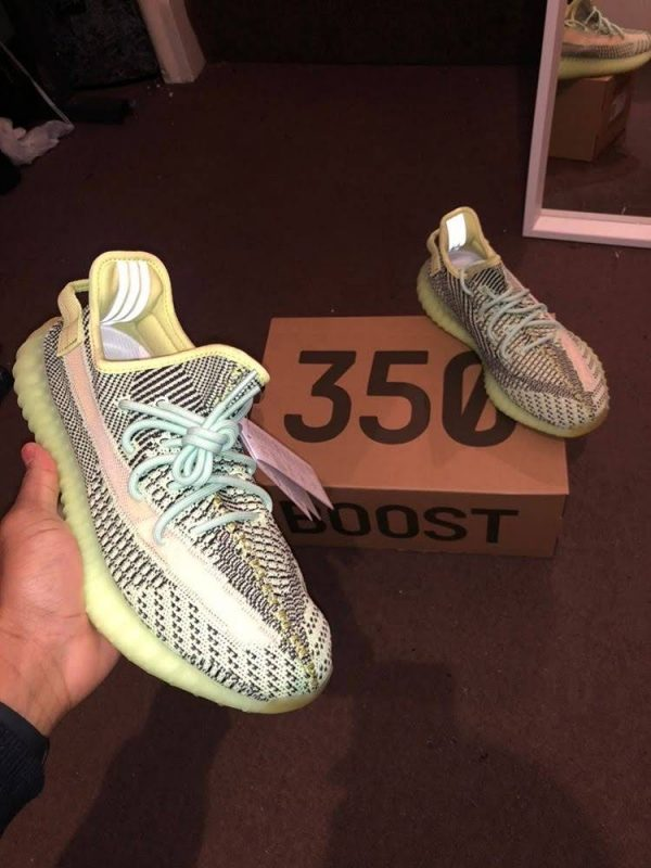Yeezy Boost 350 V2 Green Black