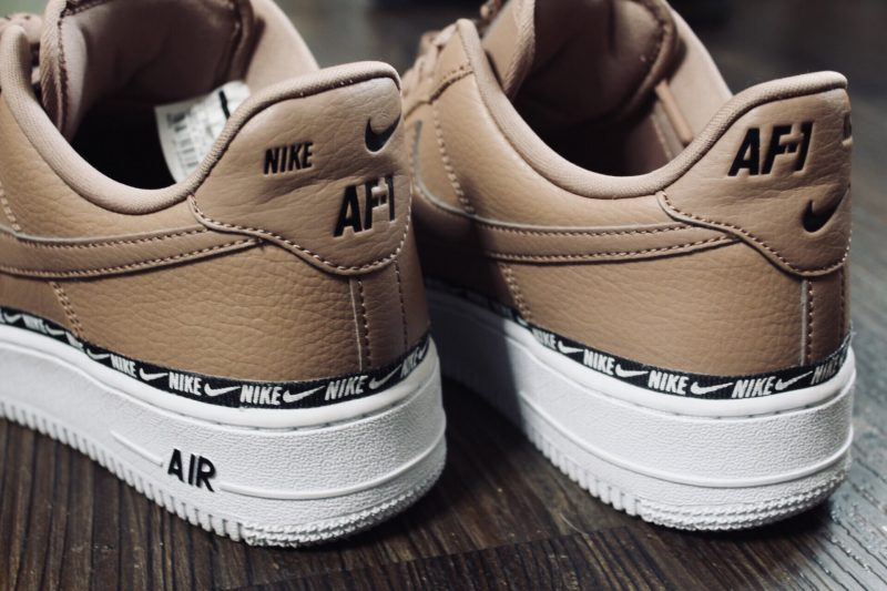 Nike Air Force 1 Premium Low Logo Ribbon Pack (Desert Dust)