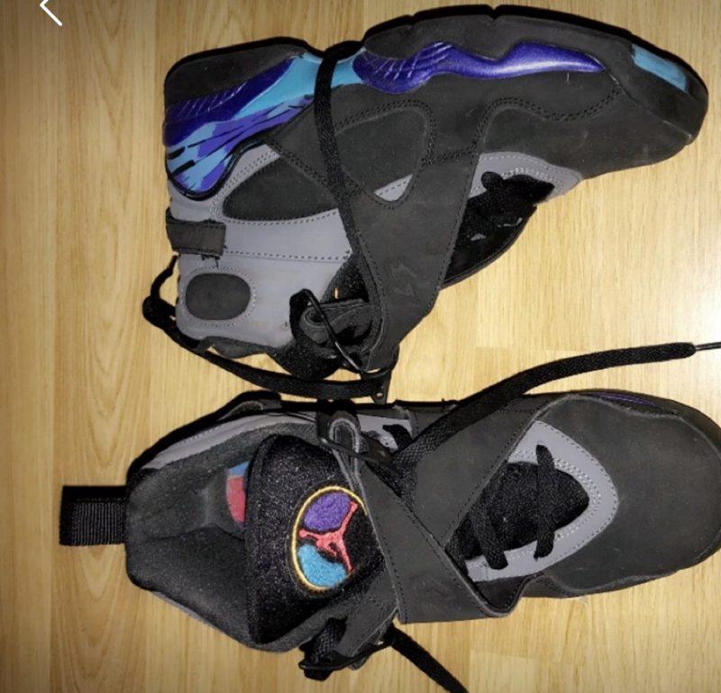 Air Jordan 8 retro 'Aqua 2015'