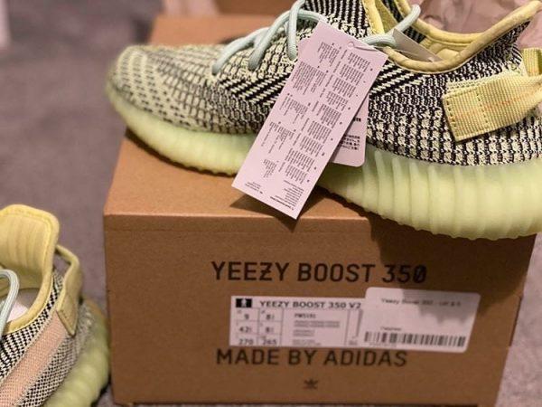 Yeezy Boost 350 V2 Green Black