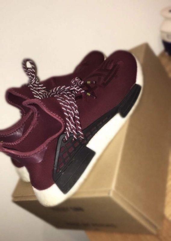Adidas NMD Pharrell HU Burgundy