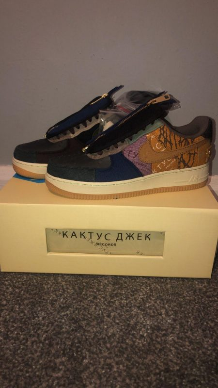 Travis Scott Air Forces