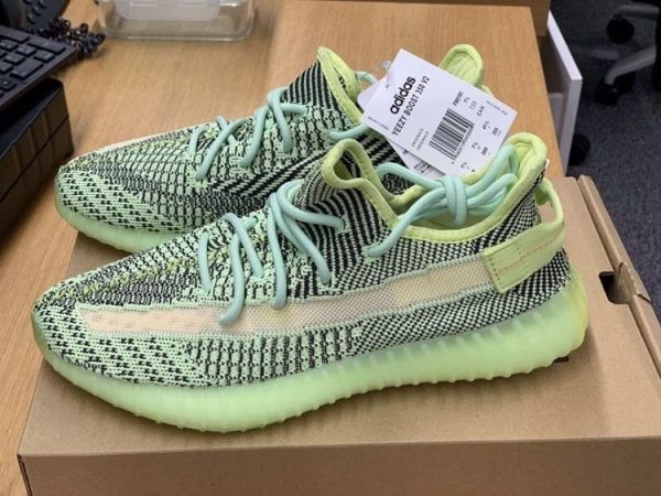 Adidas Yeezy Boost 350 V2 Green Black UK 7.5