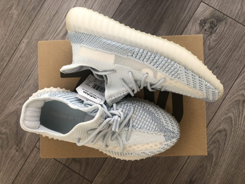 Adidas Yeezy Boost 350 v2 Cloud White UK8.5 - US9 - EU43