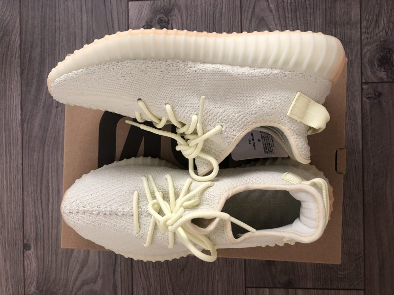 YEEZY BOOST 350 V2 BUTTER UK9 - US9.5 - EU44