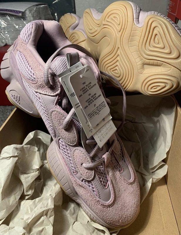 Yeezy 500 Pink