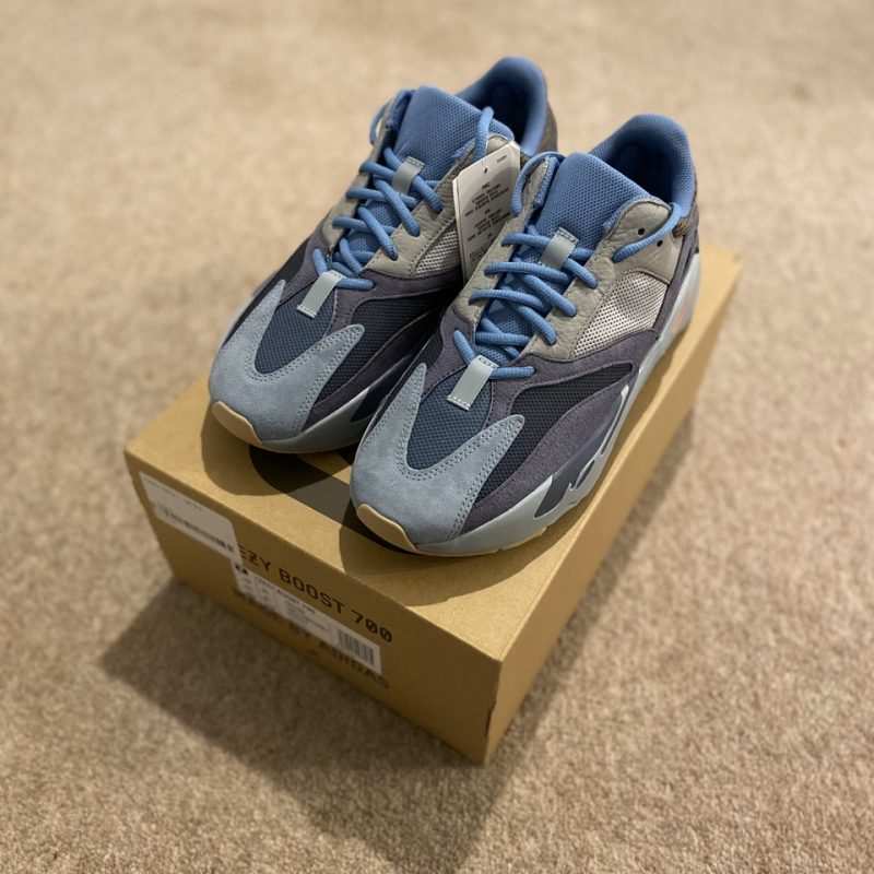Adidas Yeezy Boost 700 V1 Carbon Blue