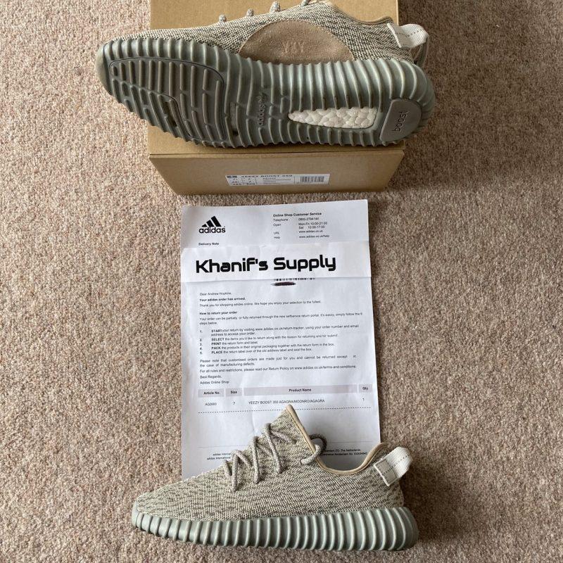 Adidas Yeezy Boost 350 V1 1.0 Moonrock