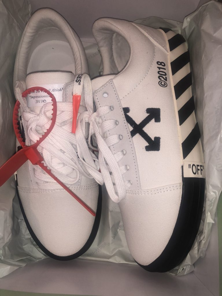 Off-White Low Vulc 2018 edition