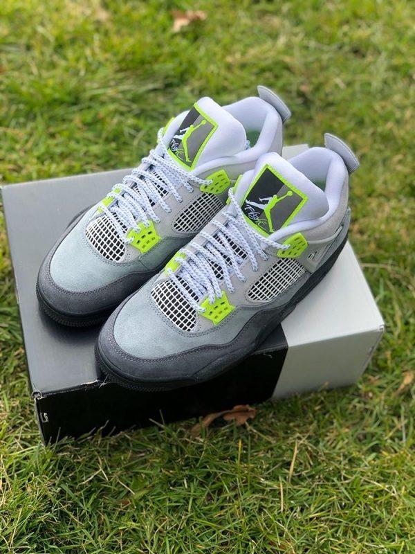 Jordan 4 Neon UK