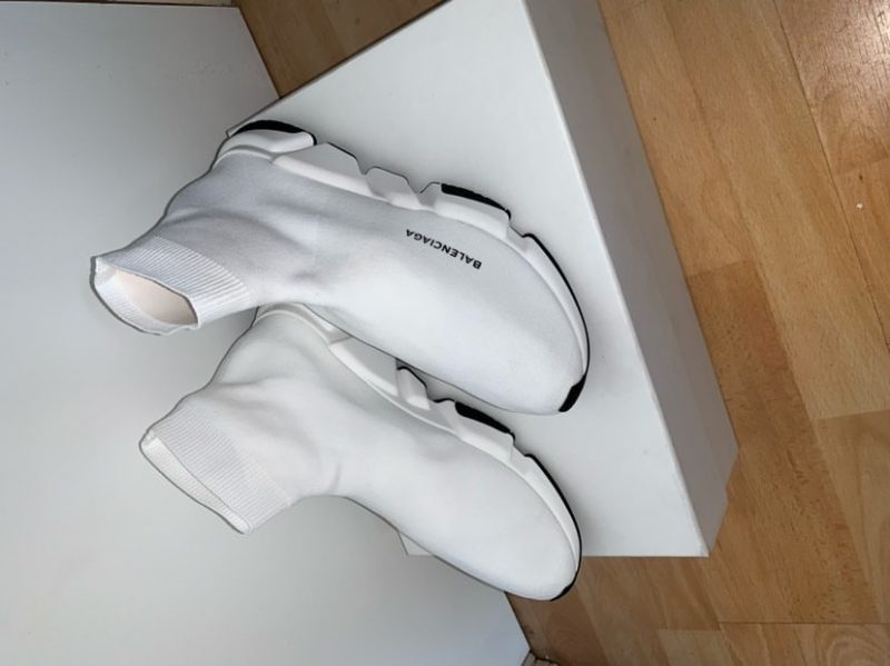 Balenciaga Speed Sock White