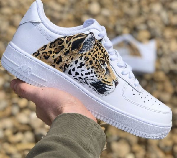 Custom Leopard Air Force 1's ALL SIZES