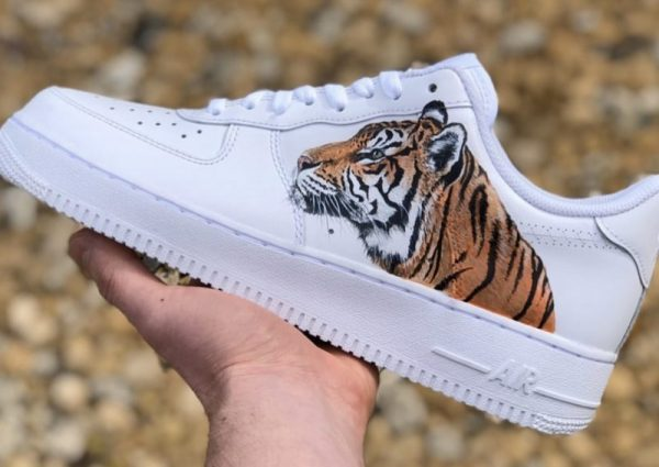 Custom Tiger Air Force 1's ALL SIZES