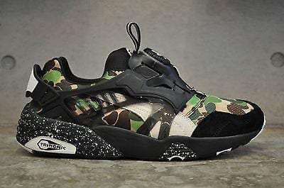 Puma Disc Blaze Bape Camo Green UK 7