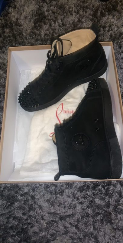 Christian Louboutin Studded Trainers