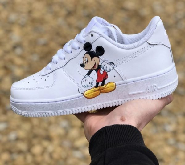 Custom Mickey Mouse Air Force 1's ALL SIZES AVAILABLE