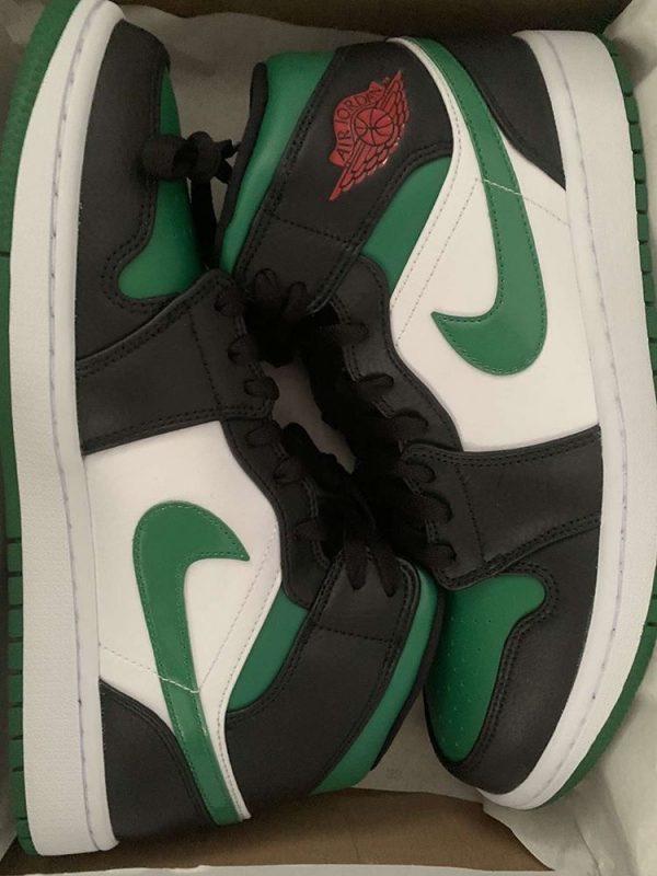 Jordan 1 White Green