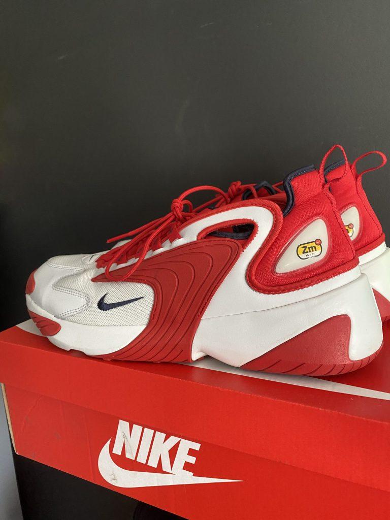 Nike Zoom Red White UK 11