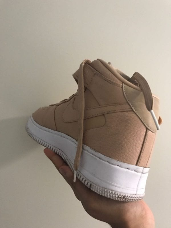 Nike Lab Air Force 1 Mid Vachetta Tan UK Size 9